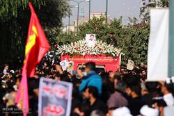 وداع عاشورایی با شهید حججی/تبلور ایران در نجفآباد