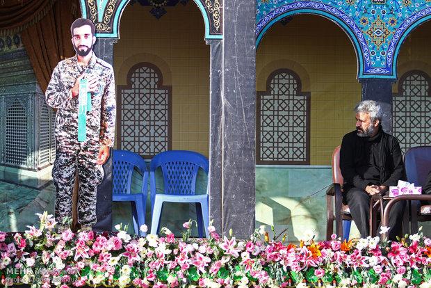 Burial ceremony of Iranian Martyr Hojaji