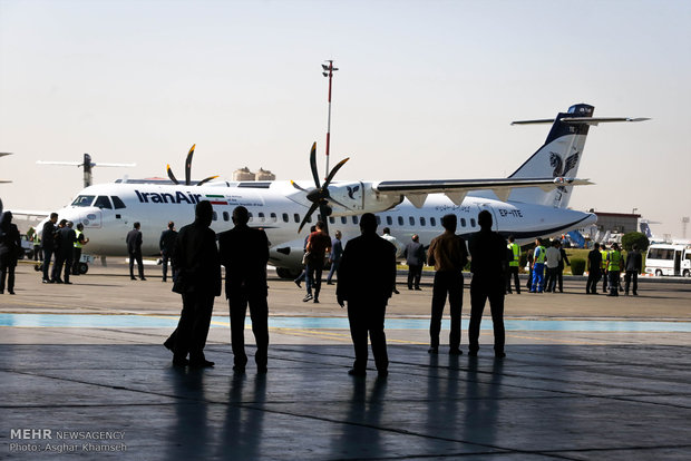 Two newly-bought planes land at Tehran Mehrabad