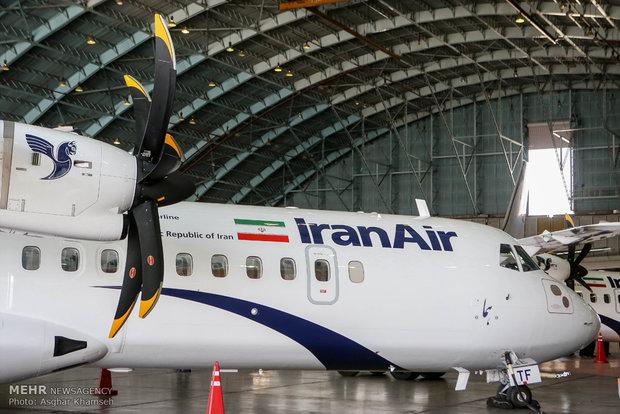 فرود دو فروند هواپیمای ای تی ار خریداری شده در تهران
