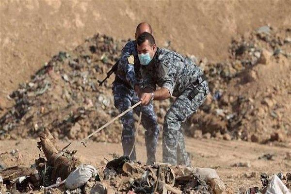 کشف ۱۲ گور دسته جمعی متعلق به قربانیان داعش در عراق
