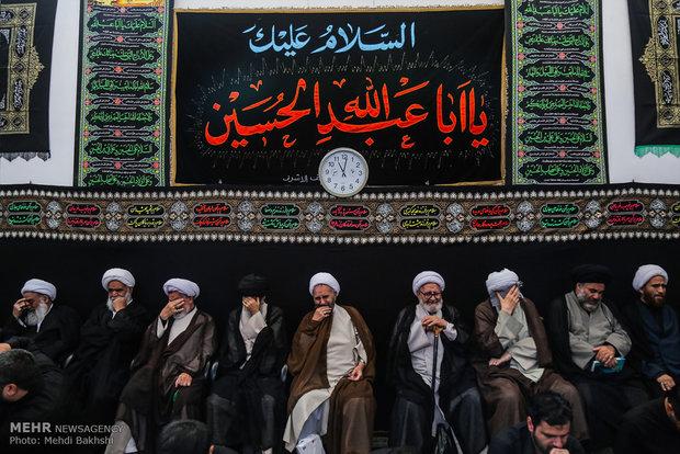 مراسم عزاء سيد الشهداء (ع) في منازل مراجع التقليد