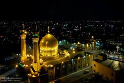 مراسم عزاداری در مسجد حسینیه اعظم زنجان
