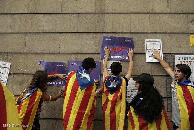 اسپانیا کے وزير اعظم نے کاتا لونیا  ریفرنڈم کو مسترد کردیا