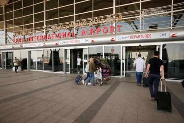 استئناف الرحلات الجوية بين طهران واربيل قريبا
