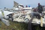 سقوط یک فروند هواپیمای نظامی در کنگو/هر ۱۰ سرنشین کشته شدند