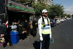 آماده باش کامل پلیس راهور  از تاسوعا تا پایان مراسم شام غریبان
