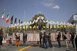 عزاداران تاسوعای حسینی در سنندج