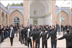 مراسم عزاداری تاریخی«حسن حسین» در شهربیدخت گناباد برگزار شد