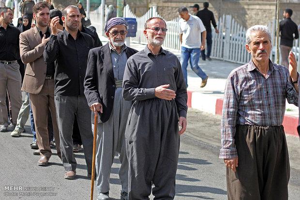 Kürdistan eyaletinde geleneksel yas töreni