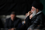 مراسم عزاداری شام غریبان اباعبدالله(ع) با حضور رهبر انقلاب برگزار شد