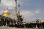 عزاداری روز تاسوعا در حرم حضرت معصومه
