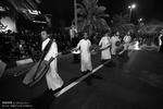 مراسم شب عاشورا در جزیره کیش
