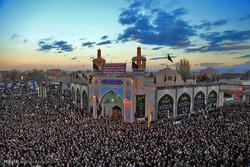 تجمع بزرگ عزاداران تاسوعای حسینی در اردبیل