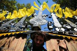 مراسم علم کشی در ساری