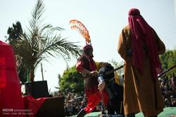 مراسم عزاداری شب عاشورا در میناب برگزارشد