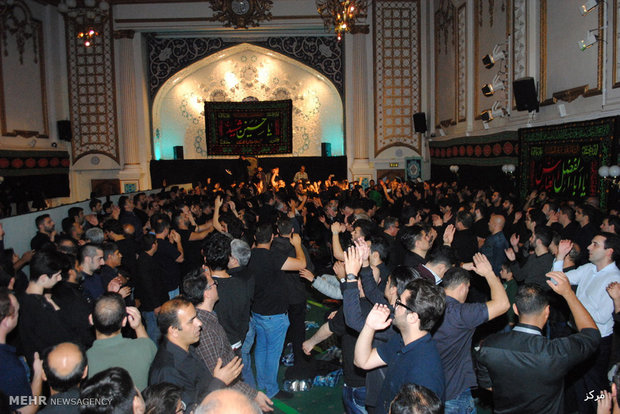 Mourning ritual in Islamic Center of England