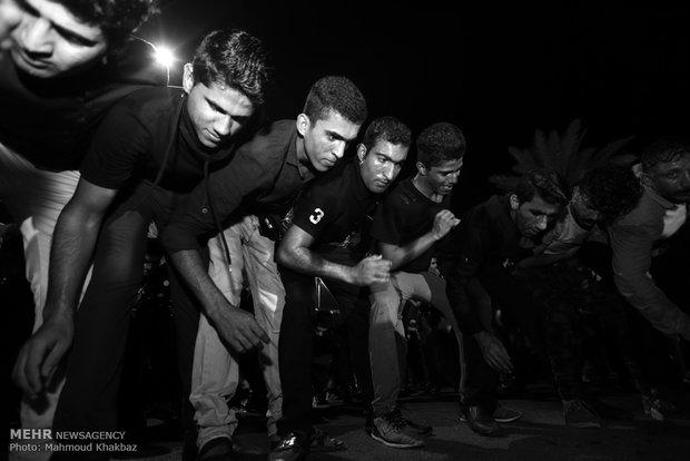 Ashura mourning ritual in Kish Island
