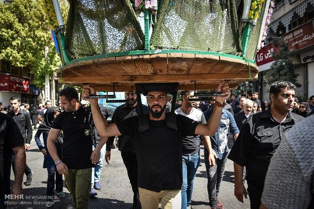 مراسم روز عاشورا در شیراز