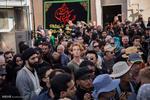 حضور گردشگران خارجی در عزاداری عاشورای حسینی شهر یزد