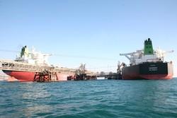 پایانه های نفتی خارگ کشتی نفتکش صادرات نفت