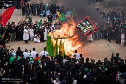 """إحياء واقعة الطف من خلال محاكاتها في محافظة """"كيلان"""" الايرانية / صور"""