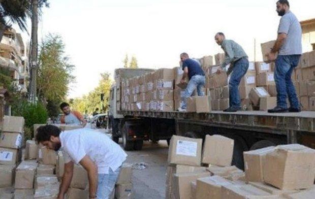 New humanitarian aid convoy arrives in Deir Ezzor city