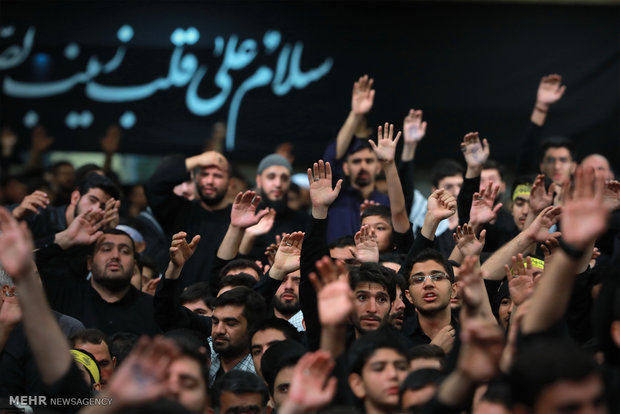 5th night of mourning for Imam Hussein
