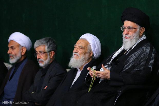 إحياء ليلة الوحشة بحضور قائد الثورة الإسلامية