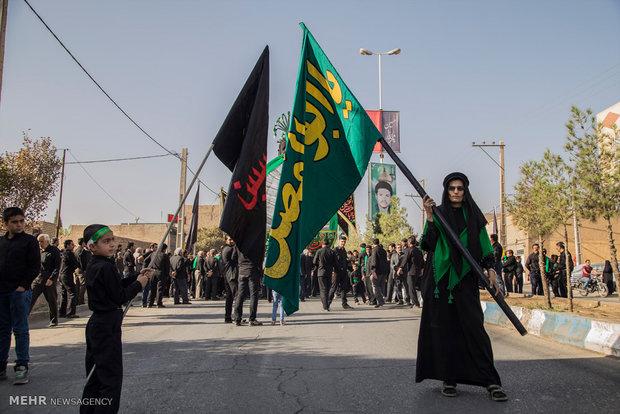 """طقوس عاشوراء في محافظة """"يزد"""" وسط إيران"""