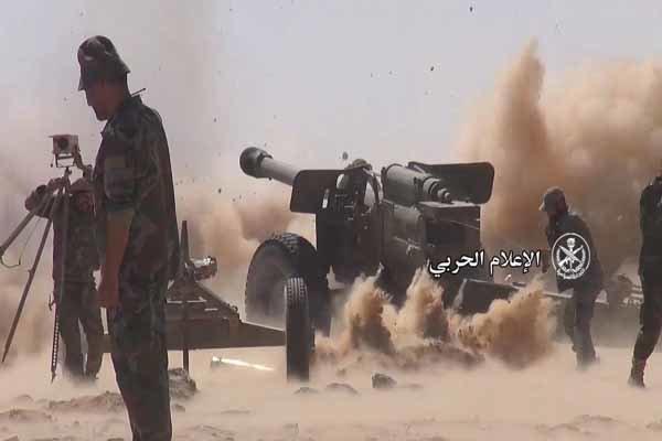 الجيش السوري يطوق الإرهابيين في مدينة الميادين