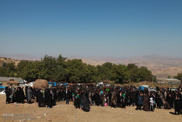 """طقوس عاشوراء في قرى مدينة """"أهر"""" شمال غربي إيران"""