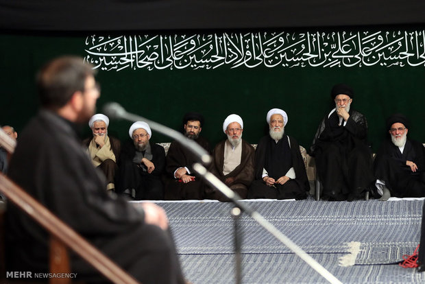 6th night of mourning at Imam Khomeini Husseinieh