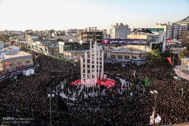 فریاد یا زینب زنجانیها در پاسداشت پیامرسان کربلا