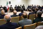 مسئولان و دستاندرکاران برگزاری حج با رهبر انقلاب دیدار کردند