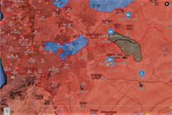 نقشه محوطه حمص وحماه 11 مهر