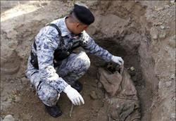 الحشد الشعبي يعثر على مقبرة جماعية اخرى جنوب غرب الحويجة