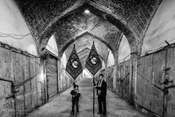 إحياء ذكرى أربعين الإمام الحسين (ع) بسوق مدينة تبريز التاريخي / صور
