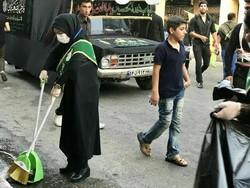 Clean-up campaigns underway during Muharram in Iran