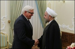 Rouhani calls for co-op with Germany on regional crises
