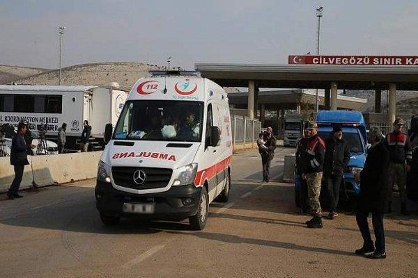 قافلة مساعدات إنسانية ايرانية تصل إلى ساحة سعد الله الجابري في حلب
