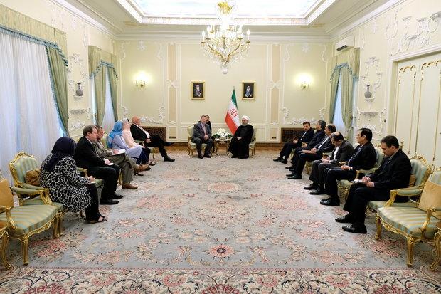 روحاني: إيران تستطيع توفير احتياجات أوروبا للطاقة