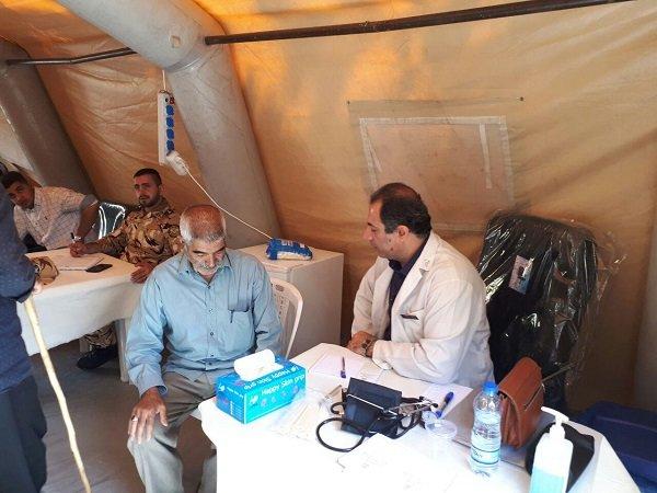 حضور٤٠کارشناس سلامت روان در قالب٢٠تیم در مناطق زلزله زده