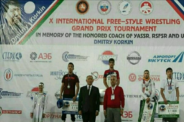 National freestyler strikes gold at Dmitry Korkin Cup