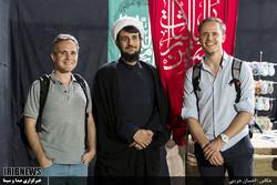 Foreign tourists spectate Muharram rituals in Iran