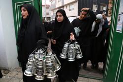 کاروان نمادین قوم بنی اسد در آمل