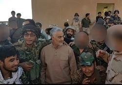 Fatemiyoun Brigade advancing against Daesh in Syria