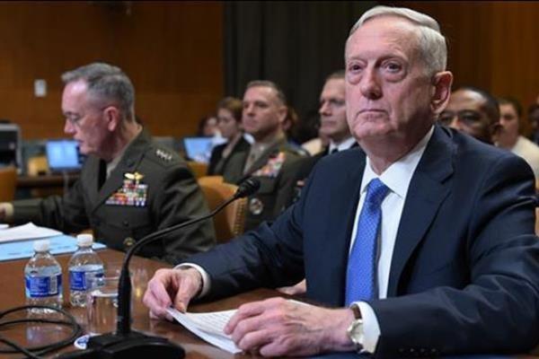 ماتیس: اقدام نظامی علیه سوریه را رد نمیکنم