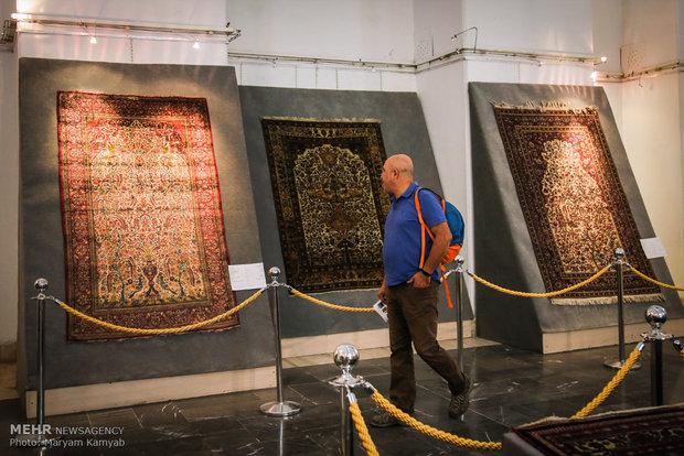 Golestan palace showcasing Qajar carpets