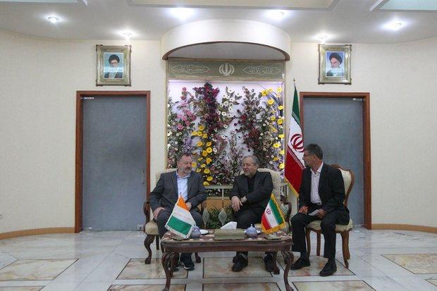 رئیس مجلس سنای ایرلند و استاندار اصفهان